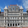 insurrectionists and domestic terrorists are considering riots at the New York state Capitol in Albany
