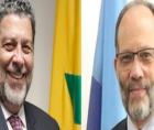 CARICOM SG Irwin LaRocque has congratulated St. Vincent and the Grenadines Prime Minister Dr. Ralph Gonsalves