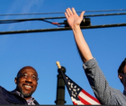 Reverend Raphael Warnock and Jon Ossoff, the two Democratic challengers in a run-off election, were announced as the winners of