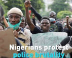 Nigeria is extending curfews beyond the city of Lagos as anti-riot officers struggle to quell violence following protests