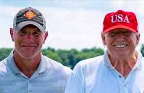 he could have asked Trump directly when they went golfing together weeks before.