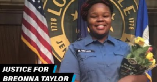 Breaking News: Louisville Officer Charged But Not For Breoanna Taylor's Death