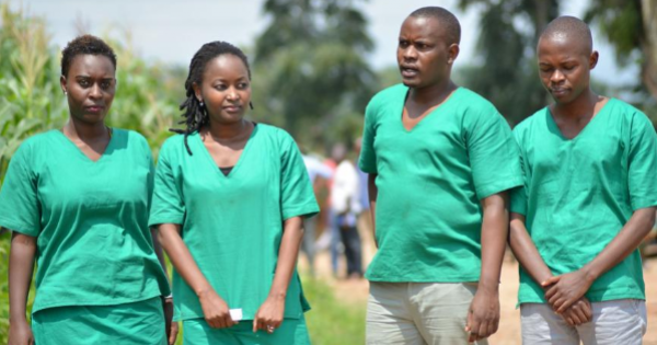 Agnès Ndirubusa, English service reporter Egide Harerimana, and photojournalist Térence Mpozenzi were arrested on October 22, 2