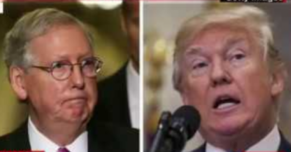 Mitch McConnell has indicated that he believes that impeaching President Donald Trump will make it easier to get rid of the Pres
